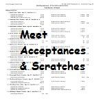 Meet Acceptances